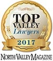 North Valley Magazine Top Valley Lawyers 2017